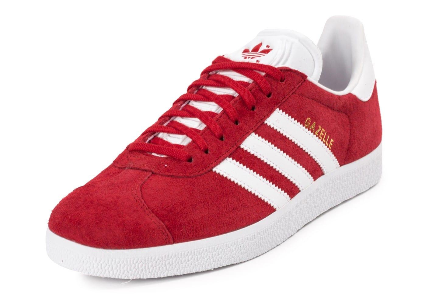 adidas original gazelle rouge